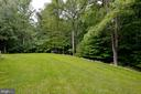 lots of yard - 4560 FOREST DR, FAIRFAX