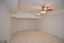 bedroom or inlaw aupair suite in basement - 4560 FOREST DR, FAIRFAX