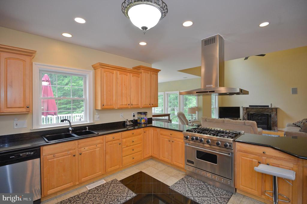 granite countertops - 4560 FOREST DR, FAIRFAX