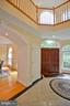 2 story foyer - 4560 FOREST DR, FAIRFAX