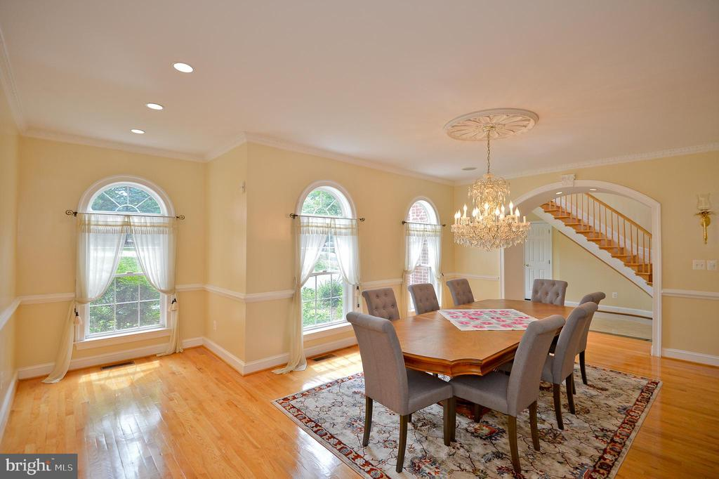 formal dining room - 4560 FOREST DR, FAIRFAX