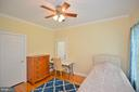 main level bedroom - 4560 FOREST DR, FAIRFAX