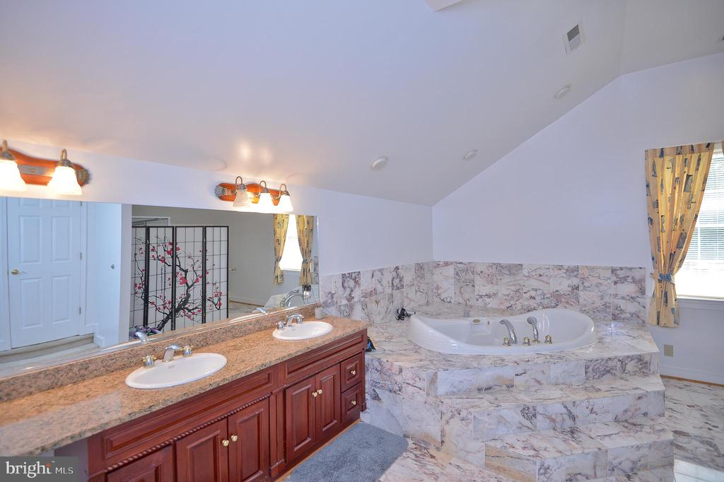 tub and separate shower - 4560 FOREST DR, FAIRFAX