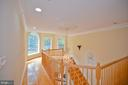 large open hallway - 4560 FOREST DR, FAIRFAX