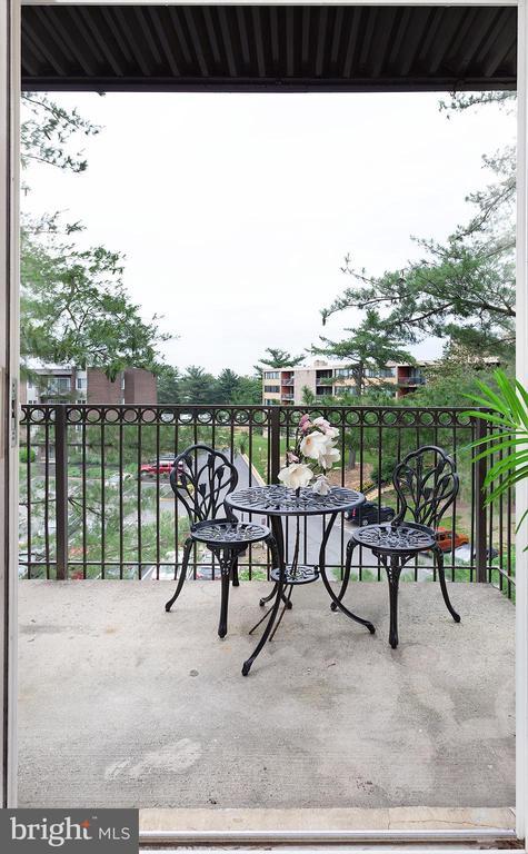 Balcony - 60 S VAN DORN ST #514, ALEXANDRIA