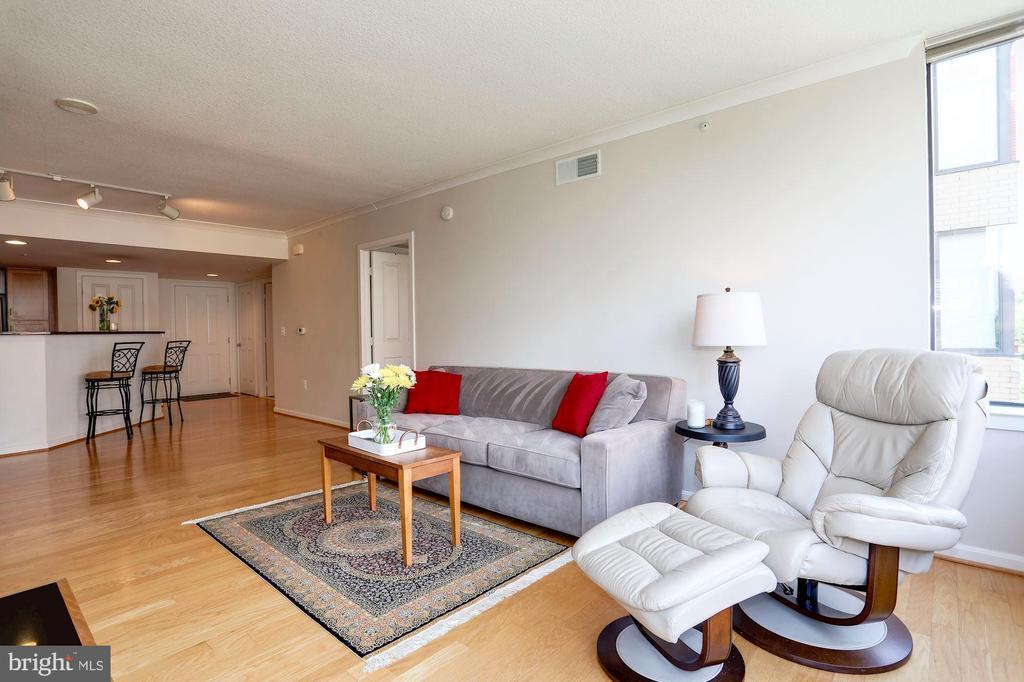 Huge family room for a large sectional - 2220 FAIRFAX DR #807, ARLINGTON