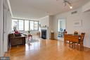 Have a dining table in the center or to the side - 2220 FAIRFAX DR #807, ARLINGTON