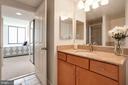 Natural light in the bathroom as well. - 2220 FAIRFAX DR #807, ARLINGTON