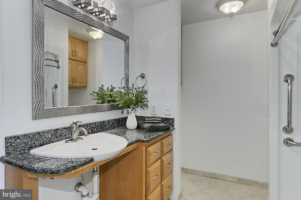 Handicap equipped with roll under vanity - 8303 BOTSFORD CT, SPRINGFIELD
