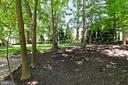 Back yard - 8303 BOTSFORD CT, SPRINGFIELD