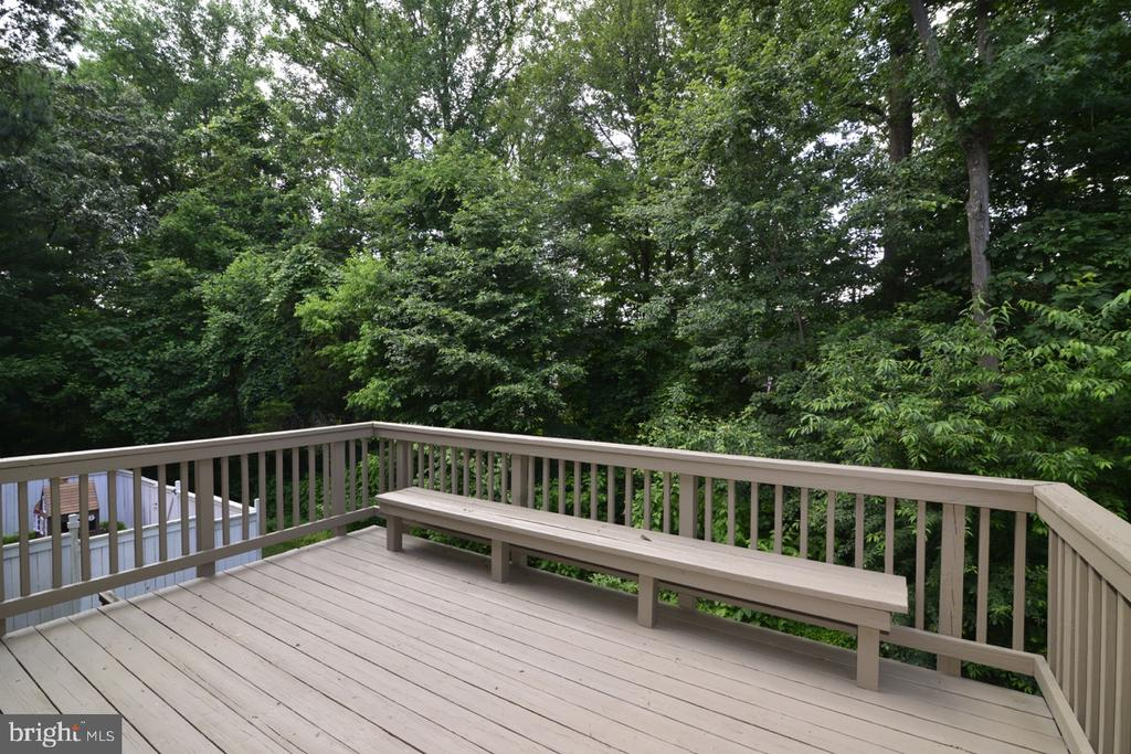 Upper Deck with Wooded Views - 1560 TWISTED OAK DR, RESTON