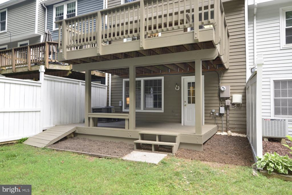 Lower Deck - 1560 TWISTED OAK DR, RESTON