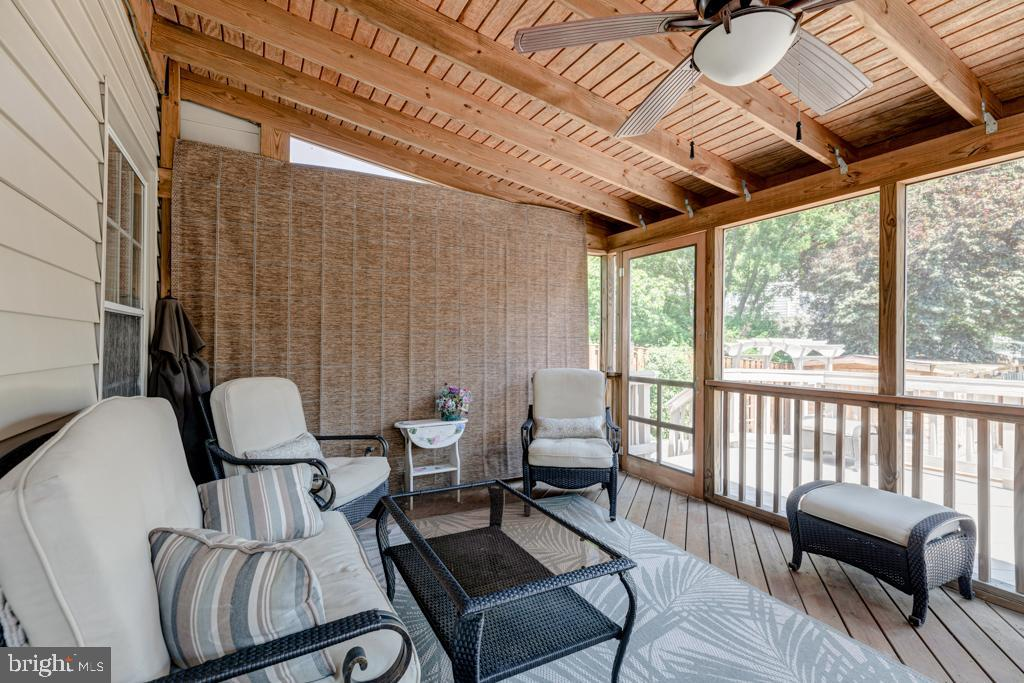 Screened-in Porch - 6007 GOOD LION CT, ALEXANDRIA