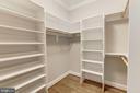 Walk In- Closet number 1 - MBR - 4339 26TH ST N, ARLINGTON
