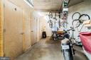 Garage features four storage units for residents - 1009 O ST NW, WASHINGTON