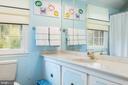 Upper Level Hall Bathroom - 9334 BOOTHE ST, ALEXANDRIA