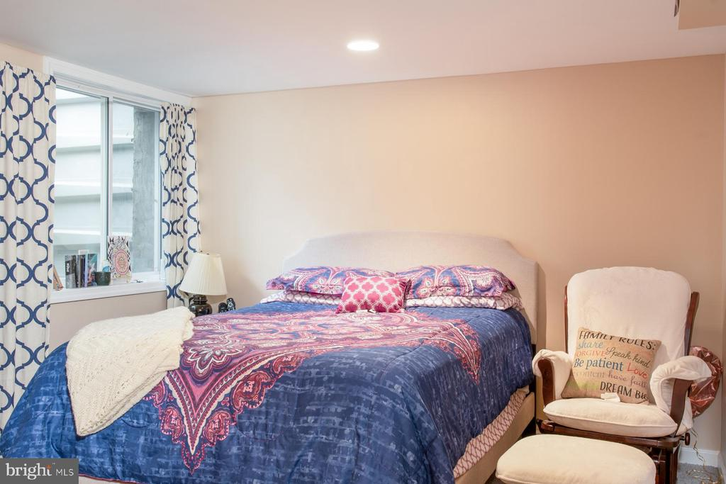 5th Bedroom in Lower Level - 9334 BOOTHE ST, ALEXANDRIA