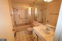 Bathroom - 3630 GLENEAGLES DR #8-3C, SILVER SPRING
