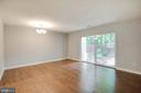 Main Living Area Leading to Enclosed Back Yard - 2316 SOUTHGATE SQ, RESTON