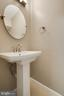 Powder Room on Main Level - 2316 SOUTHGATE SQ, RESTON