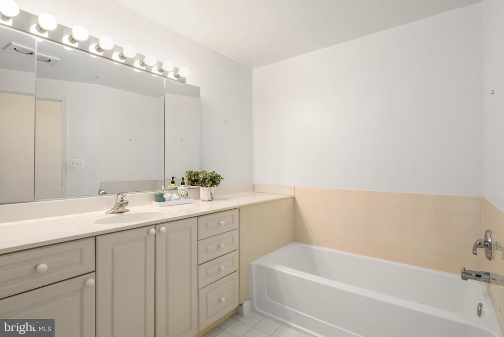 Master Bath - 19360 MAGNOLIA GROVE SQ #403, LEESBURG