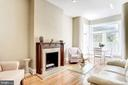 Antique Fireplace Mantel - 2115 N ST NW #1, WASHINGTON
