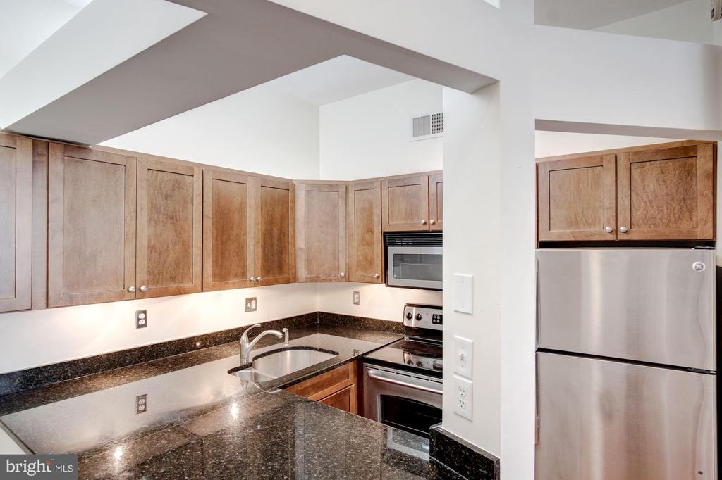 Kitchen  with SSL appliances - 2115 N ST NW #1, WASHINGTON