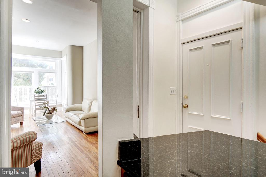 Unit Entry Door from Hall Way - 2115 N ST NW #1, WASHINGTON