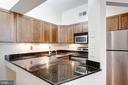 Kitchen with Granite - 2115 N ST NW #1, WASHINGTON
