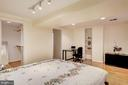 Very Quiet Master Bedroom - 2115 N ST NW #1, WASHINGTON