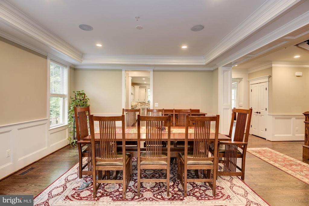 Spacious Formal Dining Room - 5823 PHOENIX DR, BETHESDA