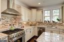 Professional 6 Burner Gas Range And SS Hood - 5823 PHOENIX DR, BETHESDA