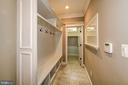 Main Level Mud Room With Garage Access - 5823 PHOENIX DR, BETHESDA