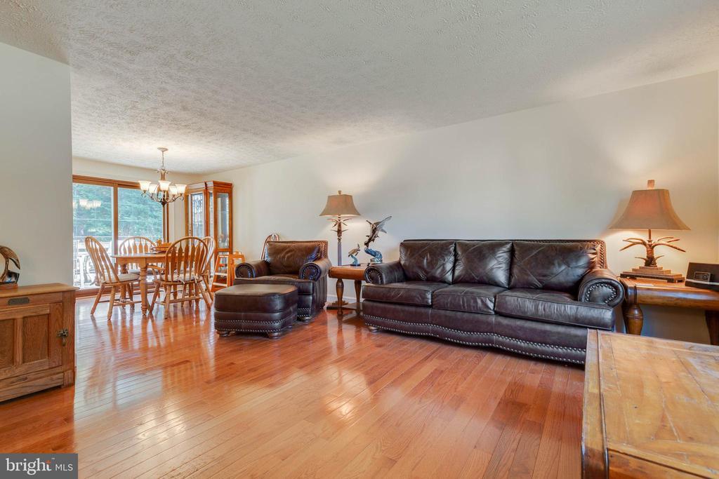 Spacious Family Room with Hardwood Floors - 4420 CUB RUN RD, CHANTILLY