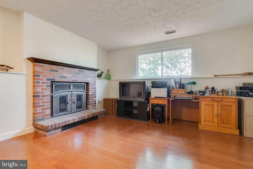 Wood-Burning Fireplace - 4420 CUB RUN RD, CHANTILLY