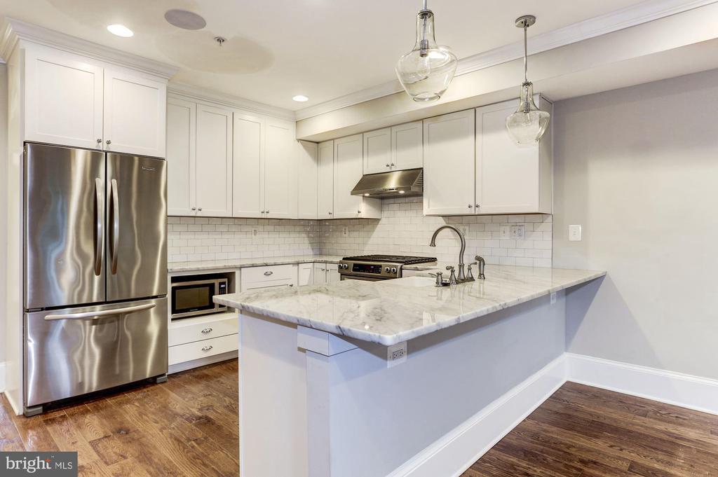 Gourmet Kitchen - Unit #2 - 1354 MERIDIAN PL NW #1 & 2, WASHINGTON