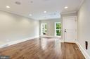 Large Living Room - Unit #1 - 1354 MERIDIAN PL NW #1 & 2, WASHINGTON