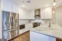 Gourmet Kitchen - Unit #1 - 1354 MERIDIAN PL NW #1 & 2, WASHINGTON