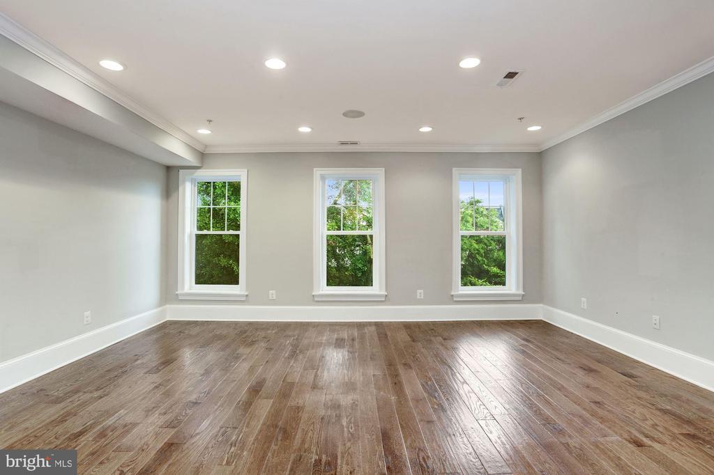 Large Living Room - Unit #2 - 1354 MERIDIAN PL NW #1 & 2, WASHINGTON