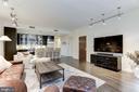Living area - 1700 CLARENDON BLVD #124, ARLINGTON
