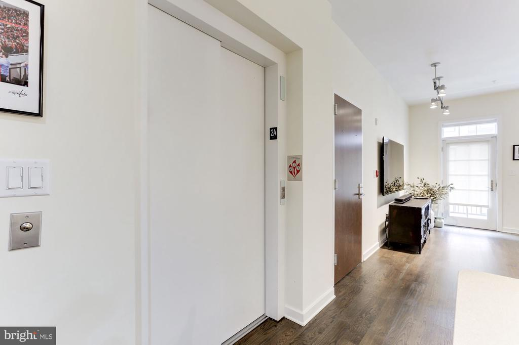 Elevator entrance - 1700 CLARENDON BLVD #124, ARLINGTON