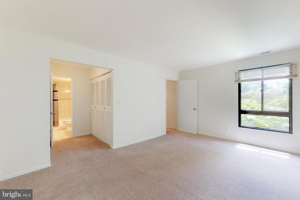 Window in master suite w/ view of full master bath - 7806 DASSETT CT #203, ANNANDALE