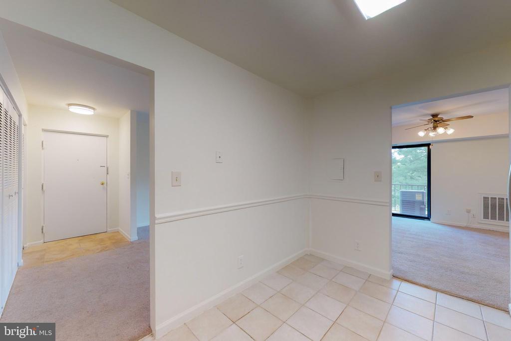 two kitchen entrances - 7806 DASSETT CT #203, ANNANDALE