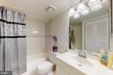 Master bathroom - 7806 DASSETT CT #203, ANNANDALE