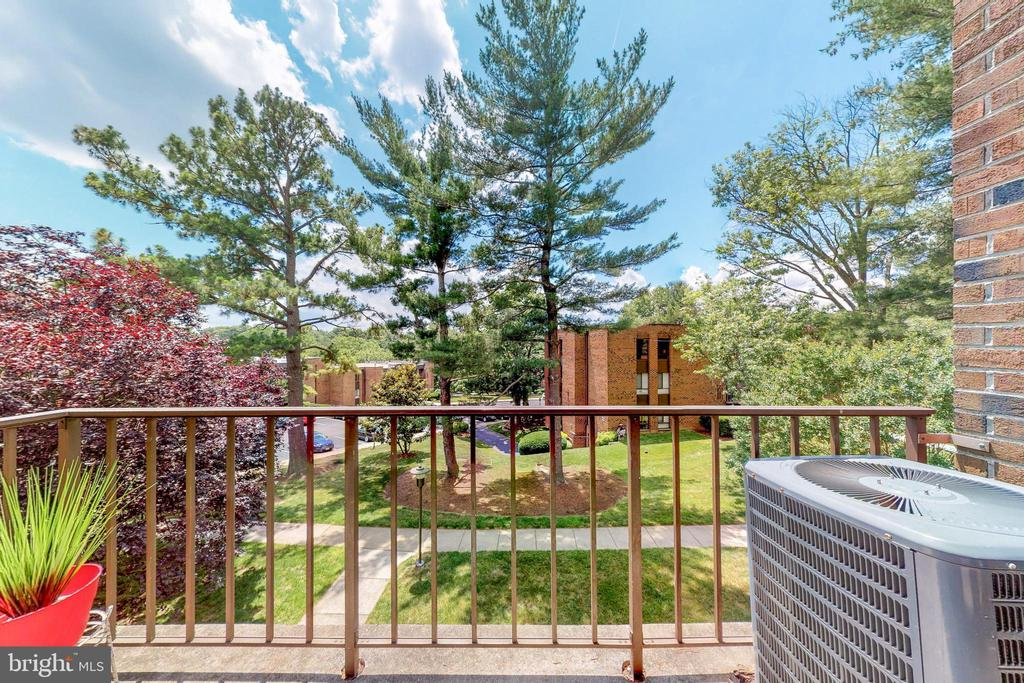 Top floor living with gorgeous view - 7806 DASSETT CT #203, ANNANDALE