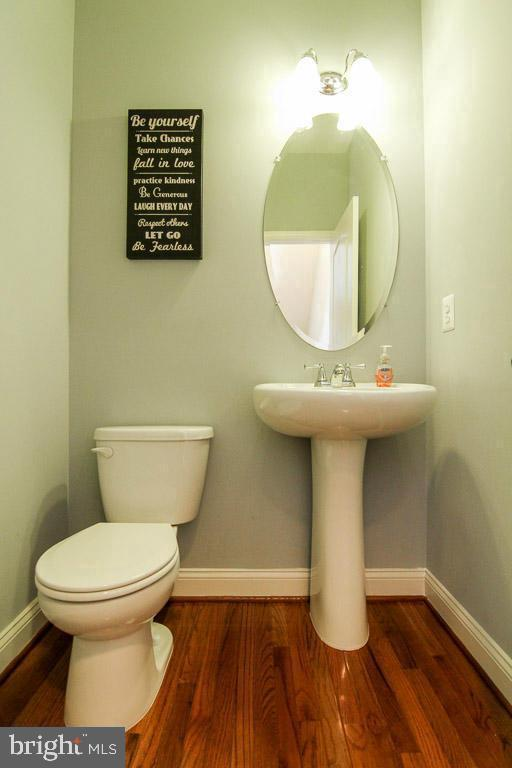 Powder Room - 4306 POTOMAC HIGHLANDS CIR #41, TRIANGLE