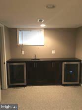 Lower level wine cooler and mini-fridge - 824 N WAKEFIELD ST, ARLINGTON