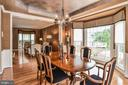 Bay Window allows for Tons of Natural Light - 5713 REGAL CREST CT, CLIFTON