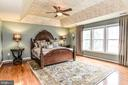 Master Bedroom - 5713 REGAL CREST CT, CLIFTON