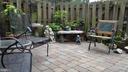 private rear yard - 409 GREENBRIER CT #409, FREDERICKSBURG
